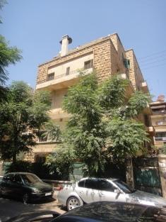 Nana's 1950s apartment building in the Sabeel neighborhood in Aleppo