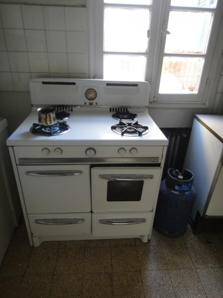 Nana cooked meals on this gas stove for over six decades